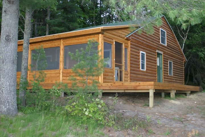 Cabin life torch lake vacation rentals located in for Northern michigan cabin rental