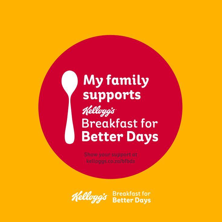 My family supports Kellogg's #BreakfastforBetterDays – will you? #PowerOfBreakfast
