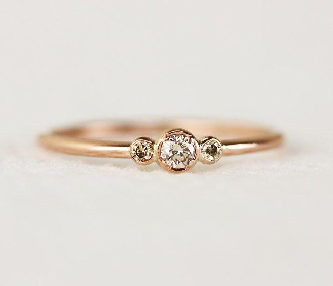 Thin Diamond Wedding Band 98 New Bezel set engagement ring