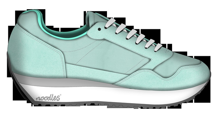 Our new flatform sneaker in the making. Due SS13