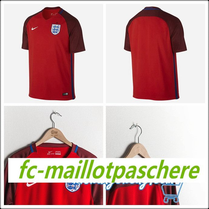 Offrir maillot euro 2016 Angleterre exterieur pas cher chine