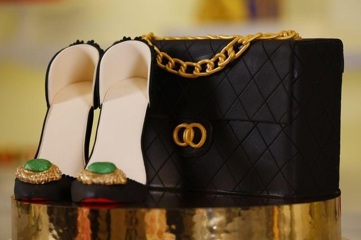 Çanta ve Ayakkabı Pasta Tasarımı Tarifi