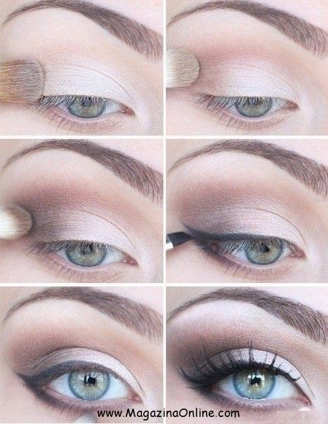 Information about dramatic eye makeup tutorial for blue eyes at dfemale.com, beauty and styles blog for women.