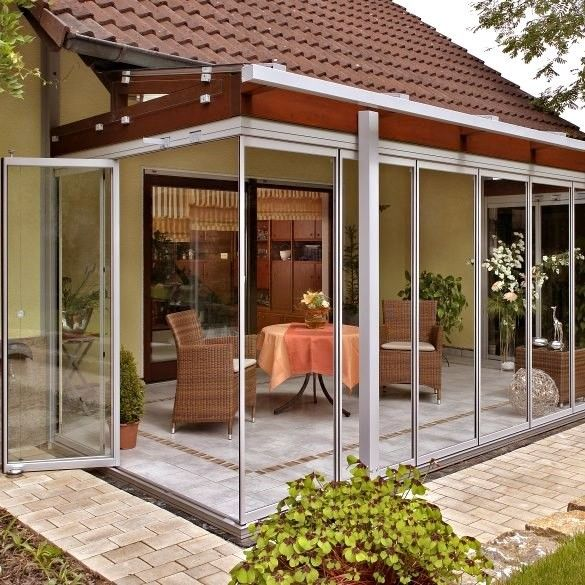 ber ideen zu terrassenverglasung auf pinterest. Black Bedroom Furniture Sets. Home Design Ideas