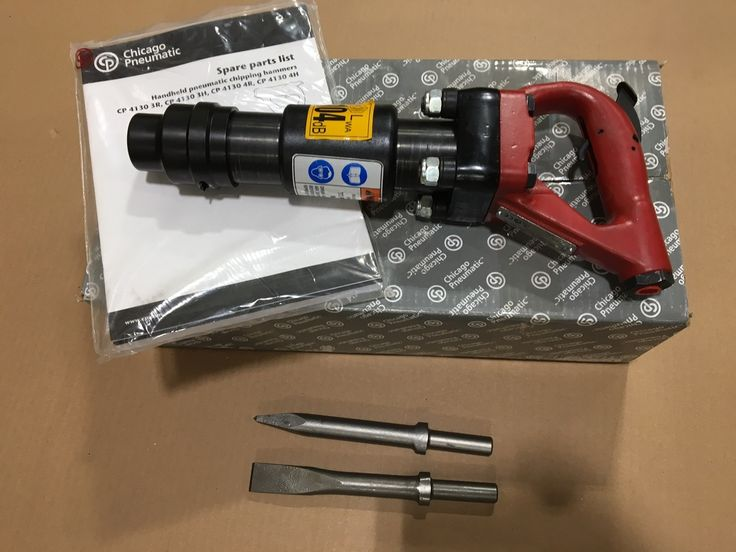 E Air Tool 1 - Chicago Pneumatic Air Chipping Hammer CP 4130 3H (8900000117)  2 Bits NEW, $319.99 (http://www.eairtool1.com/chicago-pneumatic-air-chipping-hammer-cp-4130-3h-8900000117-2-bits-new/)