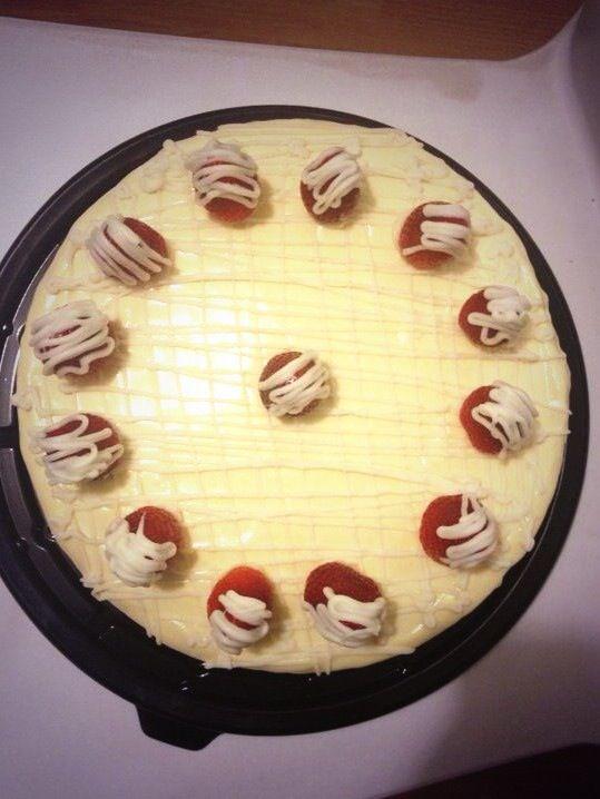 #cake #whitechocolate #strawberry