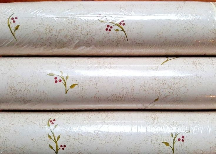 Lot 3 Double Roll St James York Delicate Floral Berry Prepasted Wallpaper JN1867 #YORK #Country