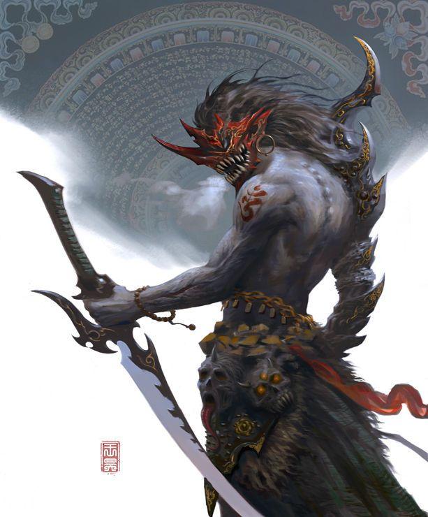 knightandknights:  Nayuta byWANG HAO