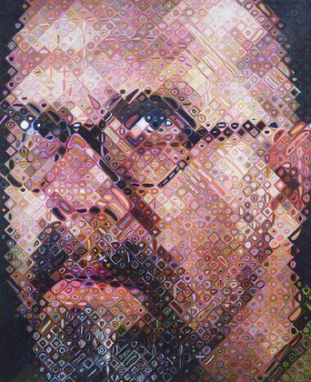 Insider Secrets into Chuck Close's Artistic Processes: Chuck Close has been a teacher himself and is an advocate for arts education. In our conversations he talked about struggling with a teacher who insisted it was her way or the highway. He believes that giving yourself or your students limits and then asking them to work creatively within those limits is completely freeing.