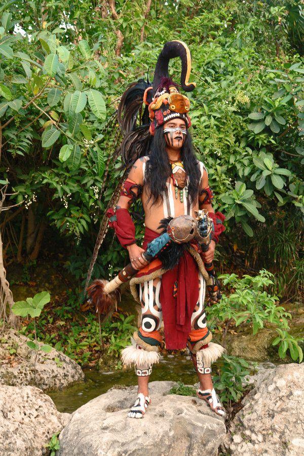 Ca C A De on Aztec Dance Headdress