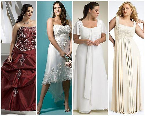 full figured wedding dresses
