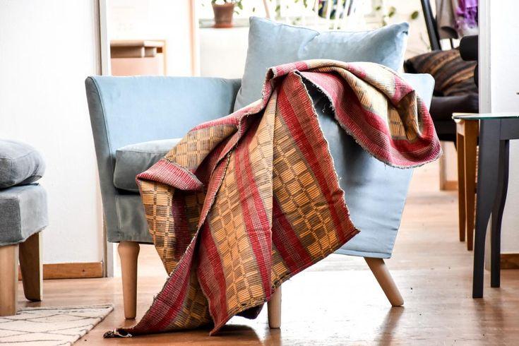 Swedish vintage rag rug 0814 - Rugs of Sweden
