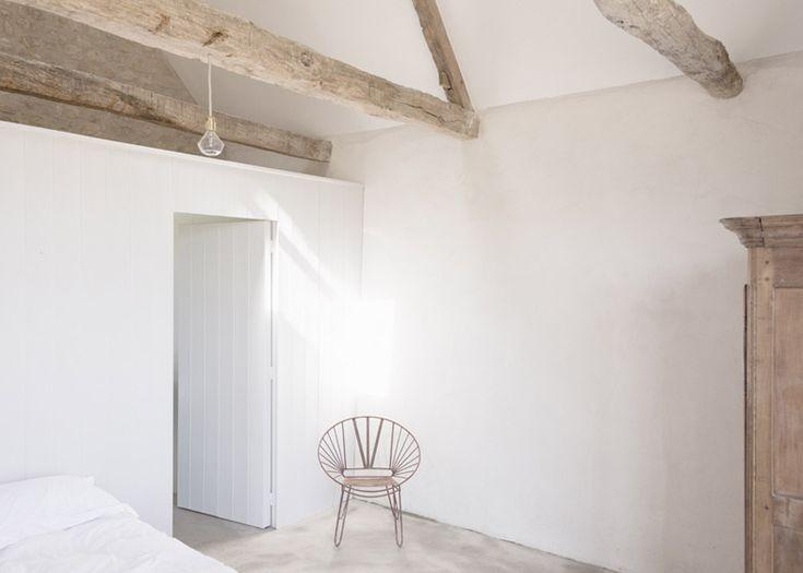 Oude Franse boerderij wordt rustgevend vakantiehuis Roomed | roomed.nl