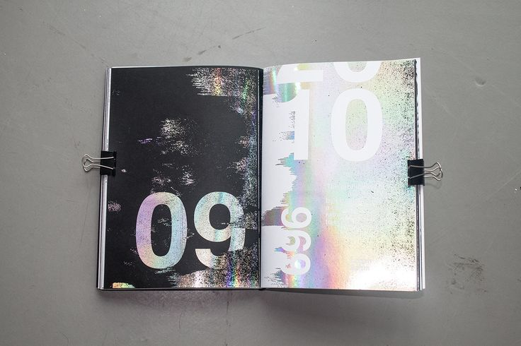 Holography on Editorial Design Served