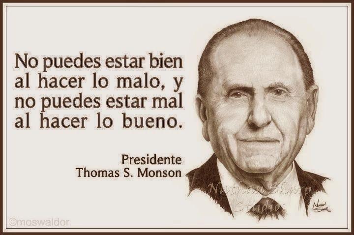 Frase presidente Monson