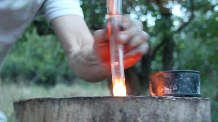 How to Make a Fire Piston for Under a Buck //