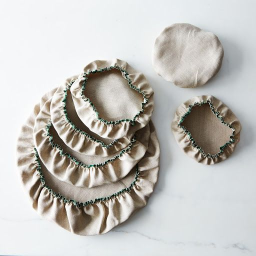 Linen Bowl Covers (Set of 6) on Provisions by Food52
