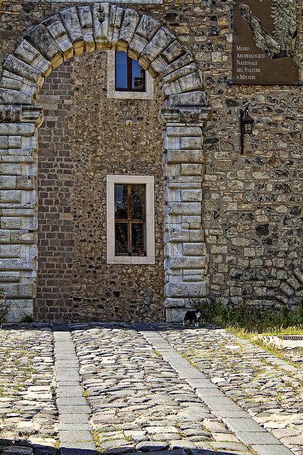 Castello di Melfi, Potenza, Basilicata