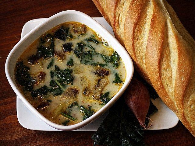 cibo toscano | Zuppa Toscano | Food | Pinterest