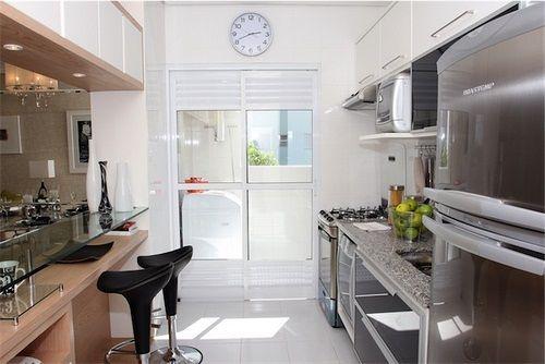 Resultado de imagem para cozinha planejada apartamento pequeno com mesa