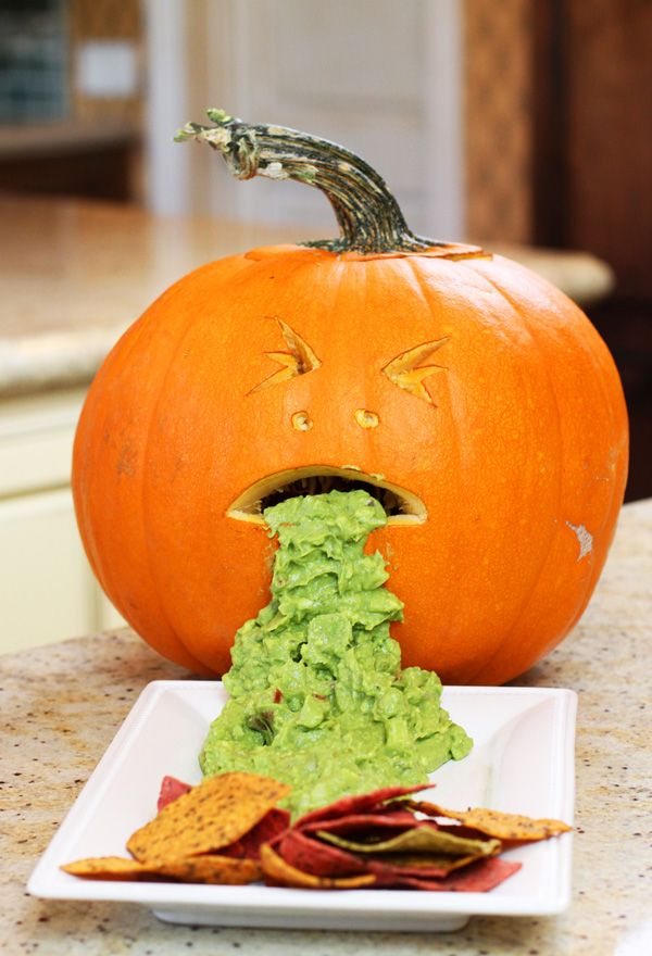 Home And Family Spooky Totally Creepy Guacamole Halloweenfood By