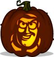 Pumpkin patterns buzz lightyear and toy story on pinterest for Buzz lightyear pumpkin template