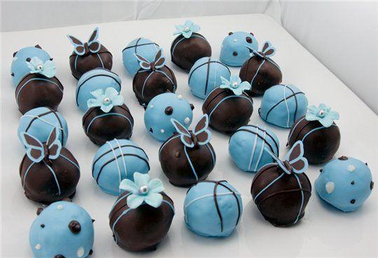 Шоколадные тортики-шарики. Обсуждение на LiveInternet - Российский Сервис…