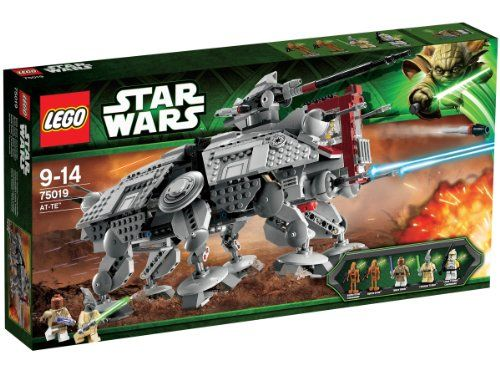 Lego Star Wars - 75019 - Jeu de Construction - AT-TE LEGO http://www.amazon.fr/dp/B00B0IIXLE/ref=cm_sw_r_pi_dp_7NLwub1MG9K9D
