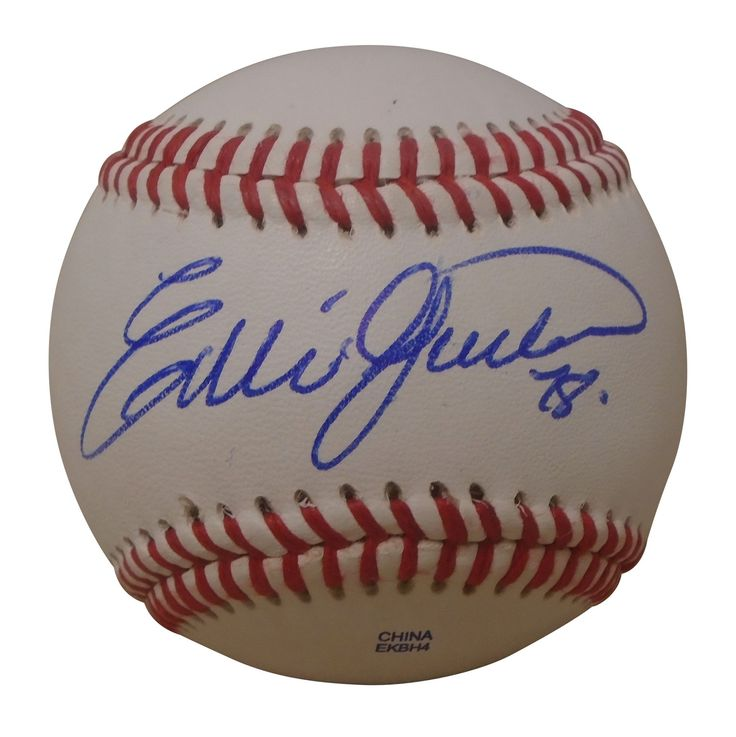 Baltimore Orioles Eddie Gamboa signed Rawlings ROLB leather Baseball w/ proof photo.  Proof photo of Eddie signing will be included with your purchase along with a COA issued from Southwestconnection-Memorabilia, guaranteeing the item to pass authentication services from PSA/DNA or JSA. Free USPS shipping. www.AutographedwithProof.com is your one stop for autographed collectibles from Baltimore sports teams. Check back with us often, as we are always obtaining new items.