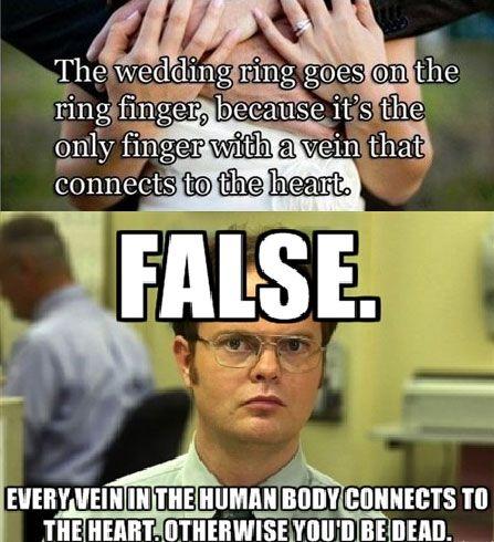 Dwight Schrute Logic