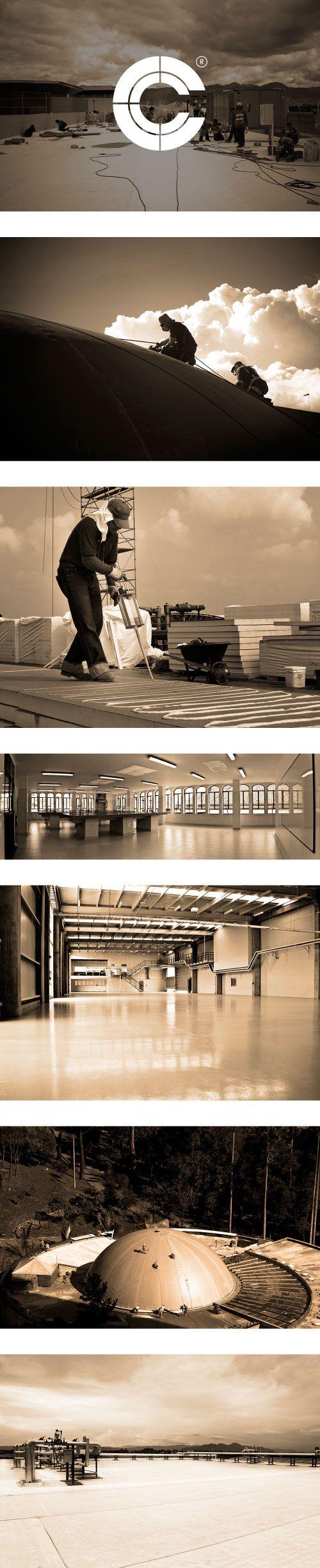 Construmat Center  www.estudio201.com Rediseño de identidad, página web, papelería. Dirección artística: fotografía documental, registro de obras, composición de piezas gráficas.