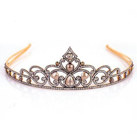 Gold Diamond Crown