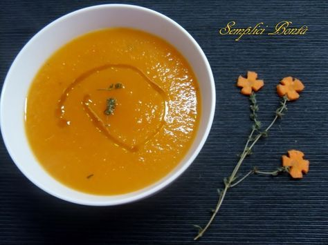 Se siete alla ricerca di un piatto light e saporito potete provare questa vellutata di carote e patate buona sia calda che tiepida . Ecco la ricetta :