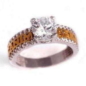 """""""Canım aşkım"""" yazılı, gümüş bayan yüzüğü"""