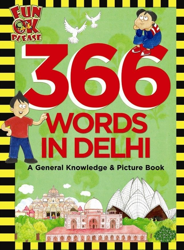 Learn 366 words and concepts through the landmarks, parks, places of learning, places of worship, festivals, experiences and cuisine of Delhi. Discover the history of Delhi, how the city got its name, famous Indians from Delhi and learn from a fun colourful map of the city.