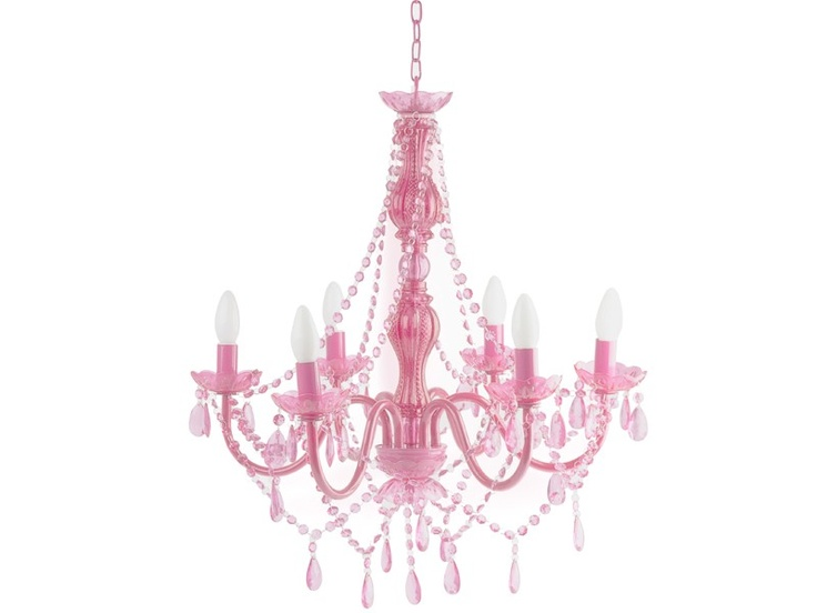 Pinker Kronleuchter Gypsy Von Silly Gifts. Barocke Nostalgie In Modernem  Acryl.