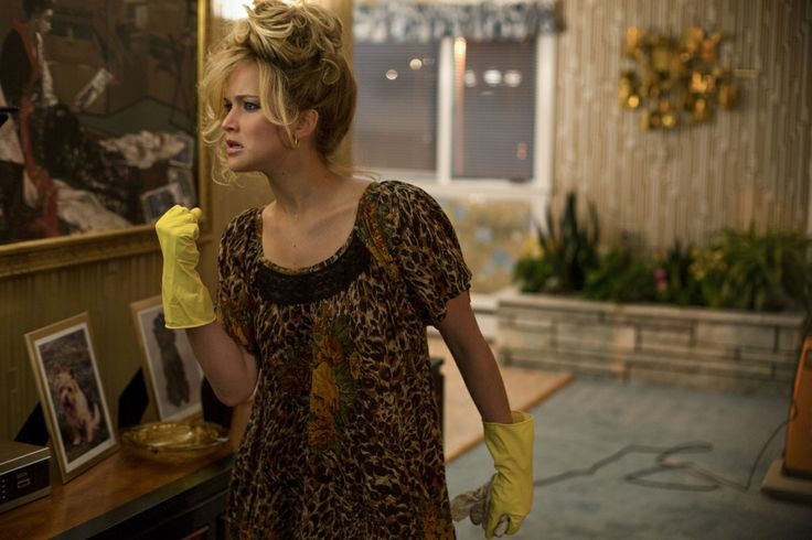 Jennifer Lawrence in American Hustle. I love every single minute of this movie. Such an honest, real film.