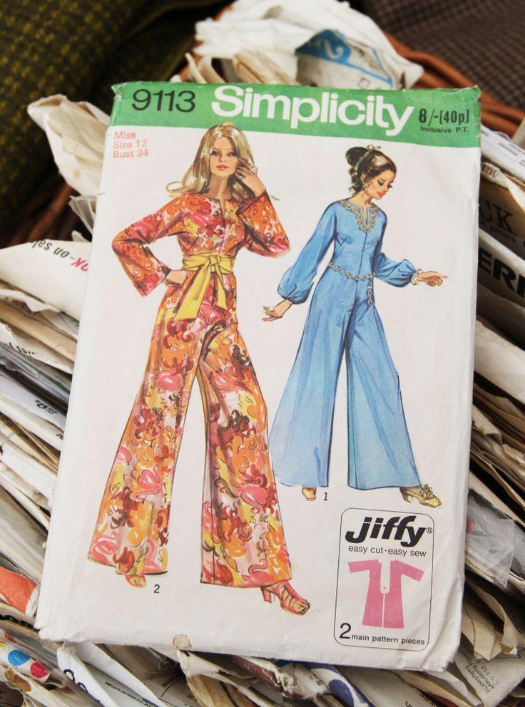 Vintage sewing patterns Hay-on-Wye