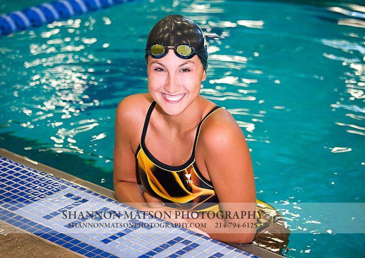 Senior Portrait / Photo / Picture Idea - Girls - Swimming / Swimmer