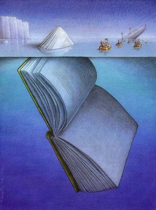 You can't tell a book by its cover, you have to read a few chapters and look below the surface.