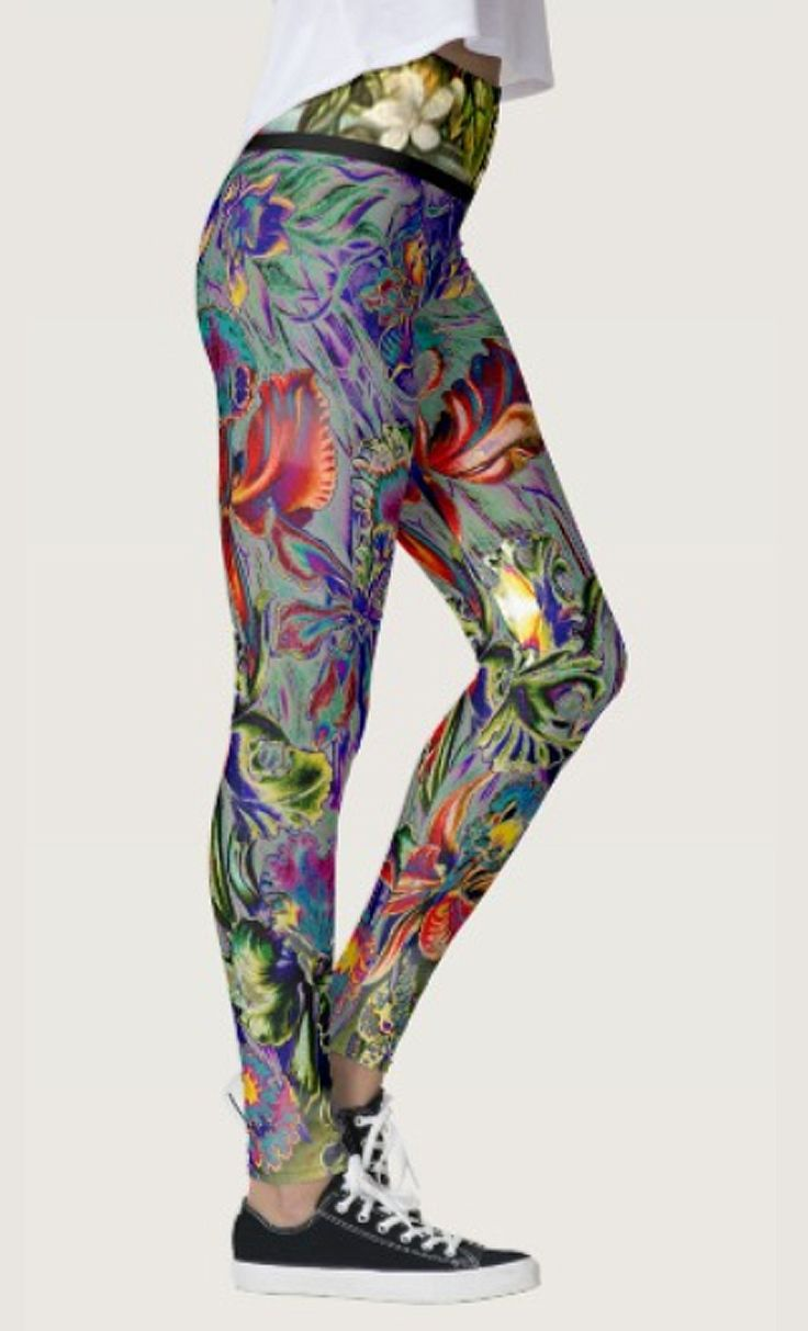 Boho Orchid Leggings by NDGRags on Zazzle. Lovely.