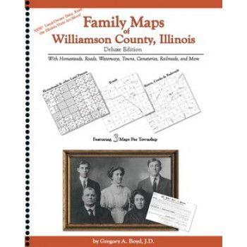 WILLIAMSON COUNTY, Illinois -Family Maps of Williamson County,  Illinois
