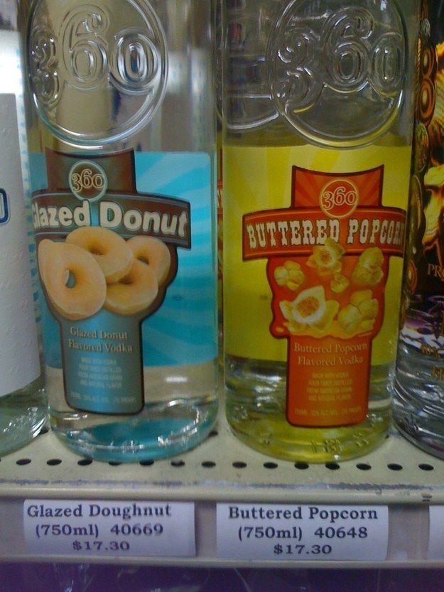 Was mischt man überhaupt mit Popcorn-Wodka?   29 Fotos, bei denen du dich echt fragst, was da eigentlich los ist in Amerika