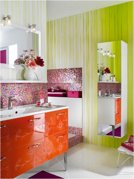 would love to do a bathroom like this for my daughter key interiors by shinay - Girls Bathroom Design