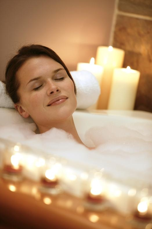 Image result for someone taking a relaxing bath appropriate