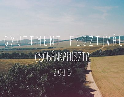 """Check out new work on my @Behance portfolio: """"Gyüttment fesztivál 2015"""" http://on.be.net/1g4LgeU"""