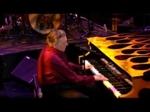"""Jerry Lee Lewis - Last Man Standing - Click it and let him go...Best UTube Concert on here! (I saw him in the 50's with Brenda Lee in S'port LA, as her """"filler"""" act!)"""