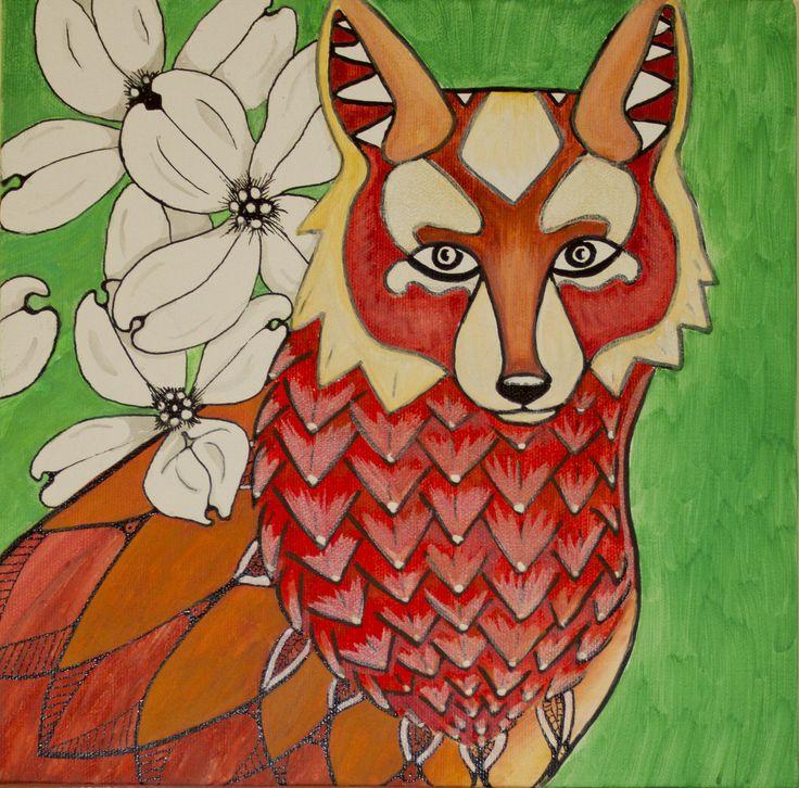 by Nicole Smedegaard Acrylic on canvas