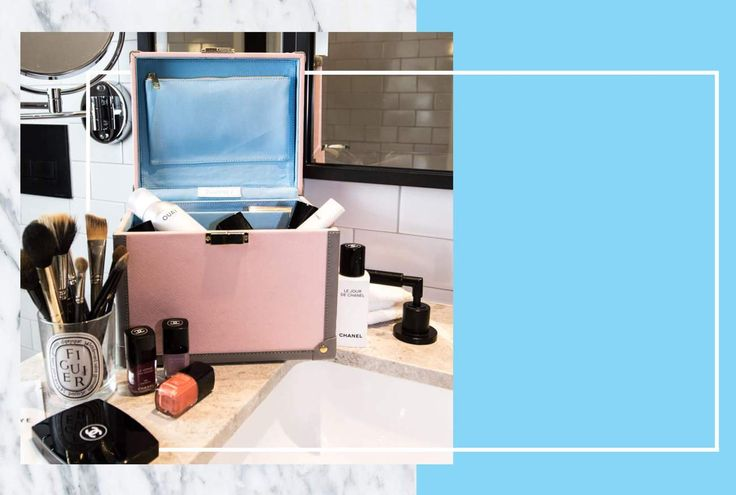 Beauty Case by Journey   For those ladies that love to travel in style. This luxe beauty case is great for any type of travel - out and about, day trip, weekend trip, and holidays. We love the loops provided to keep bottles upright in transit. #journey #luggage #beautycase #makeupcase #travelcase #travelbag #luxetravel #travel
