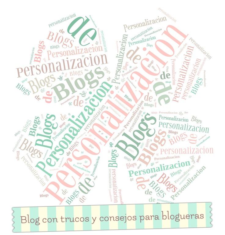 Personalización de Blogs, blog sobre blogs: como crear un blog y trucos blogger: Cómo hacer collages de palabras con formas